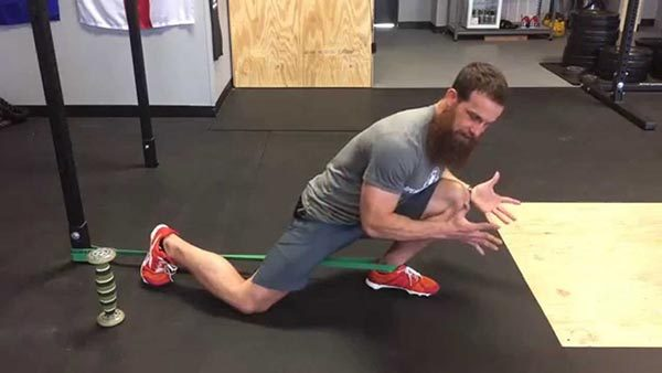ankle mobility stretch deep squat