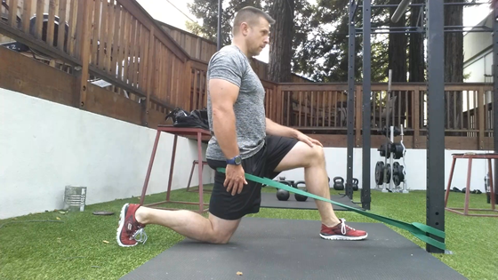 mobility ankle hip squat stretch