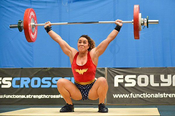 olympic weightlifter progressive overload